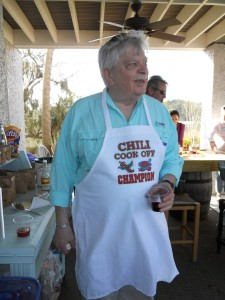 Dennis, our Chili Cook off champion